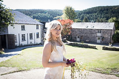 Bridal portrait at Clifford Barton wedding venue