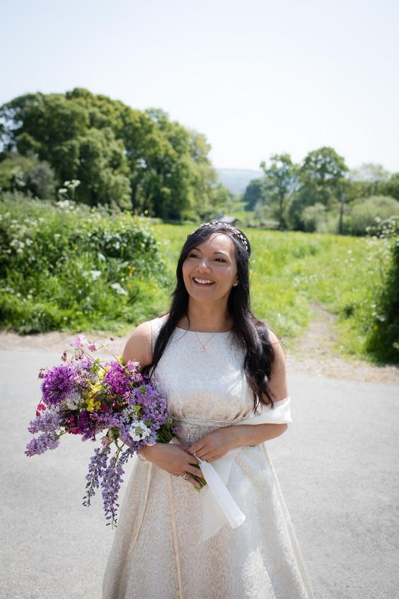 Royal wedding day bride