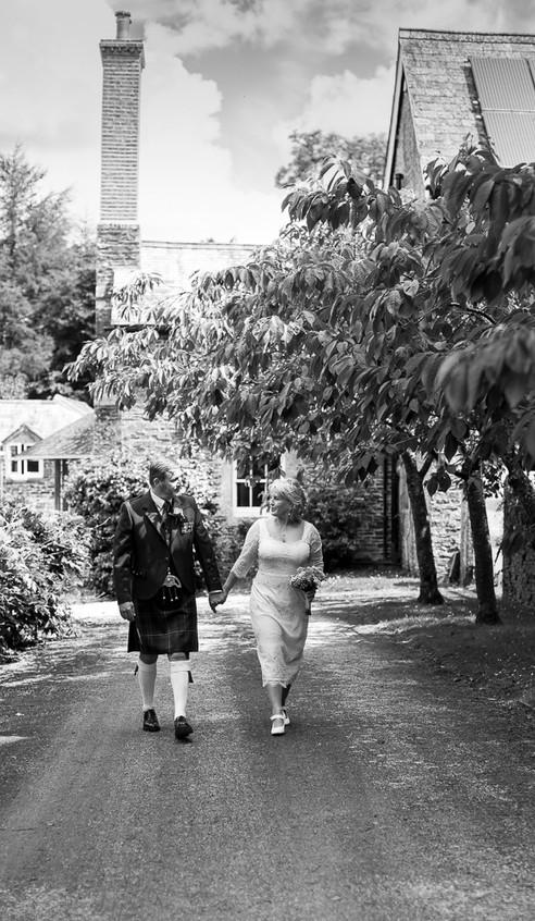 Sunny Devon wedding