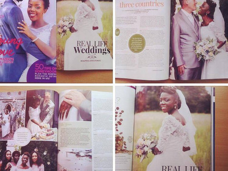 Devon wedding photographer: published!