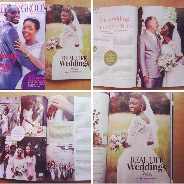 Wedding in Topsham Devon, magazine article