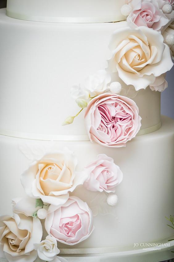 Deer Park wedding cake detail