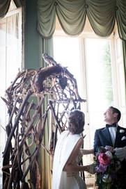 Owls at your wedding at Powderham!