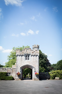 Powderham Castle gatehouse