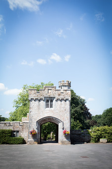 Powderham Castle gatehouse