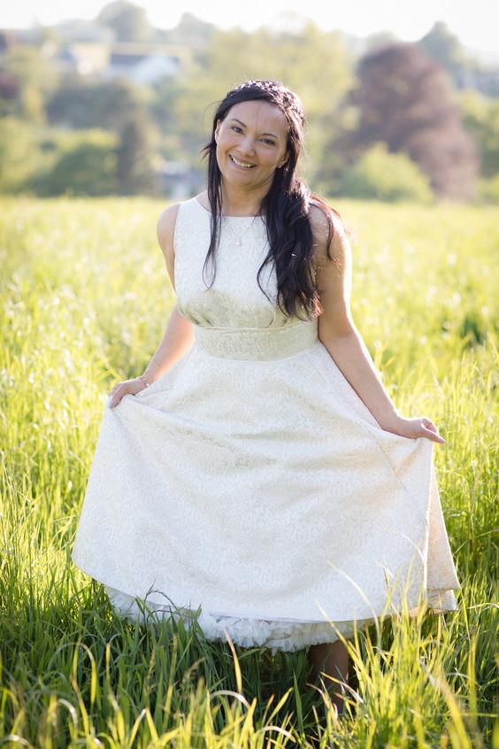 Pretty country bride