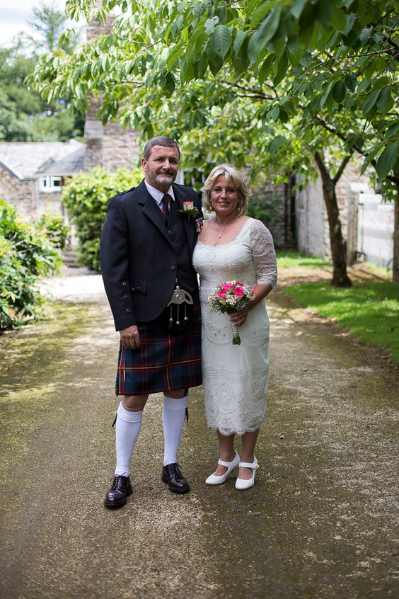 Devon country wedding