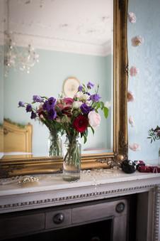 Bridal suite flowers