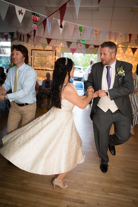 Wedding dance ceilidh