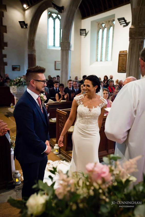 Ceremony in Tedburn St Mary