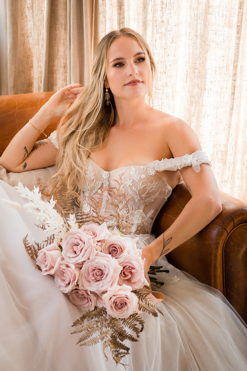 Bride all ready