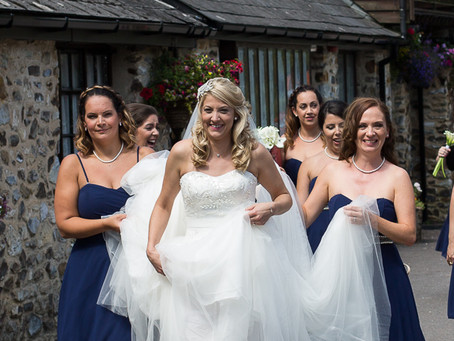 Devon wedding photographer: Lakeview Manor