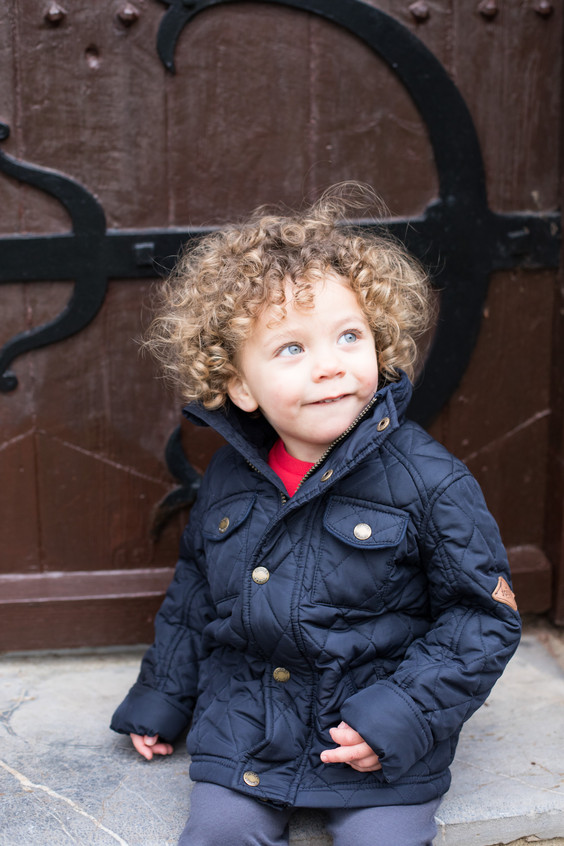 Natural light child photography