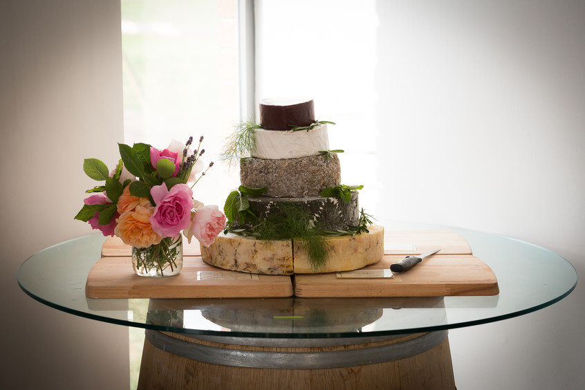 Devon wedding cheese cake