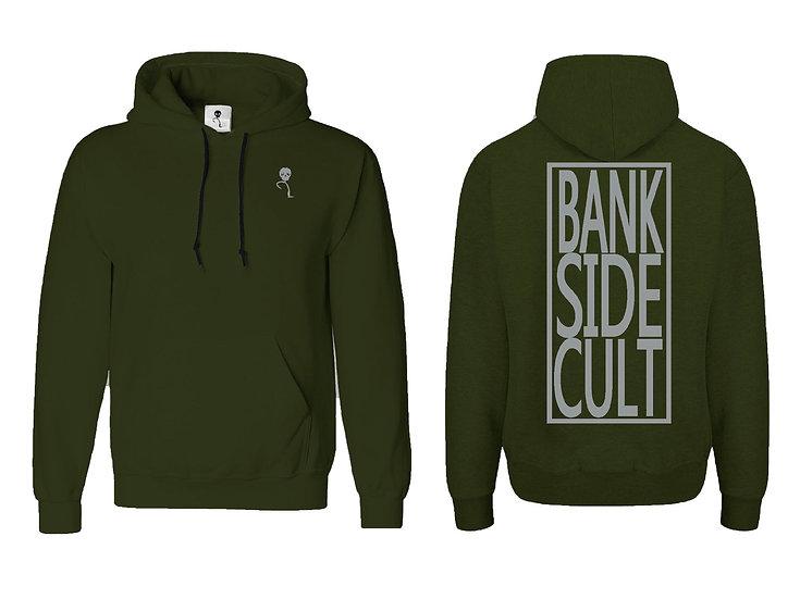 BankSideCult olive hoodie