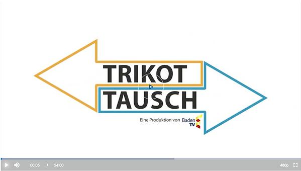 Die Hockeyabteilung im Fernsehen bei der Sendung Trikot Tausch.
