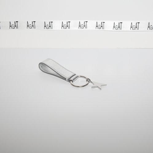 Golden Goose  Silver Keychain