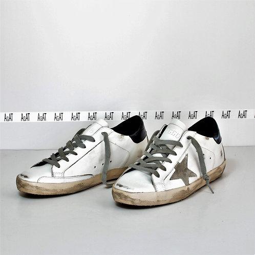 Golden Goose Superstar Sneakers Navy