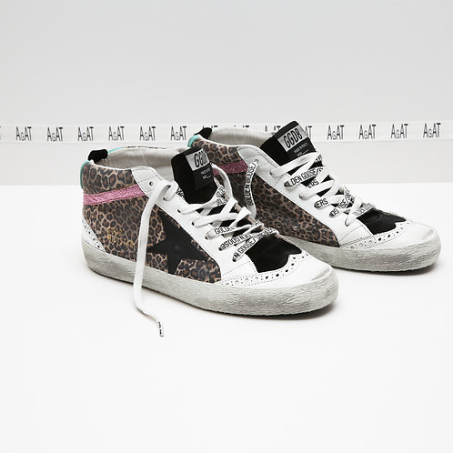 Golden Goose Mid-Star Sneakers
