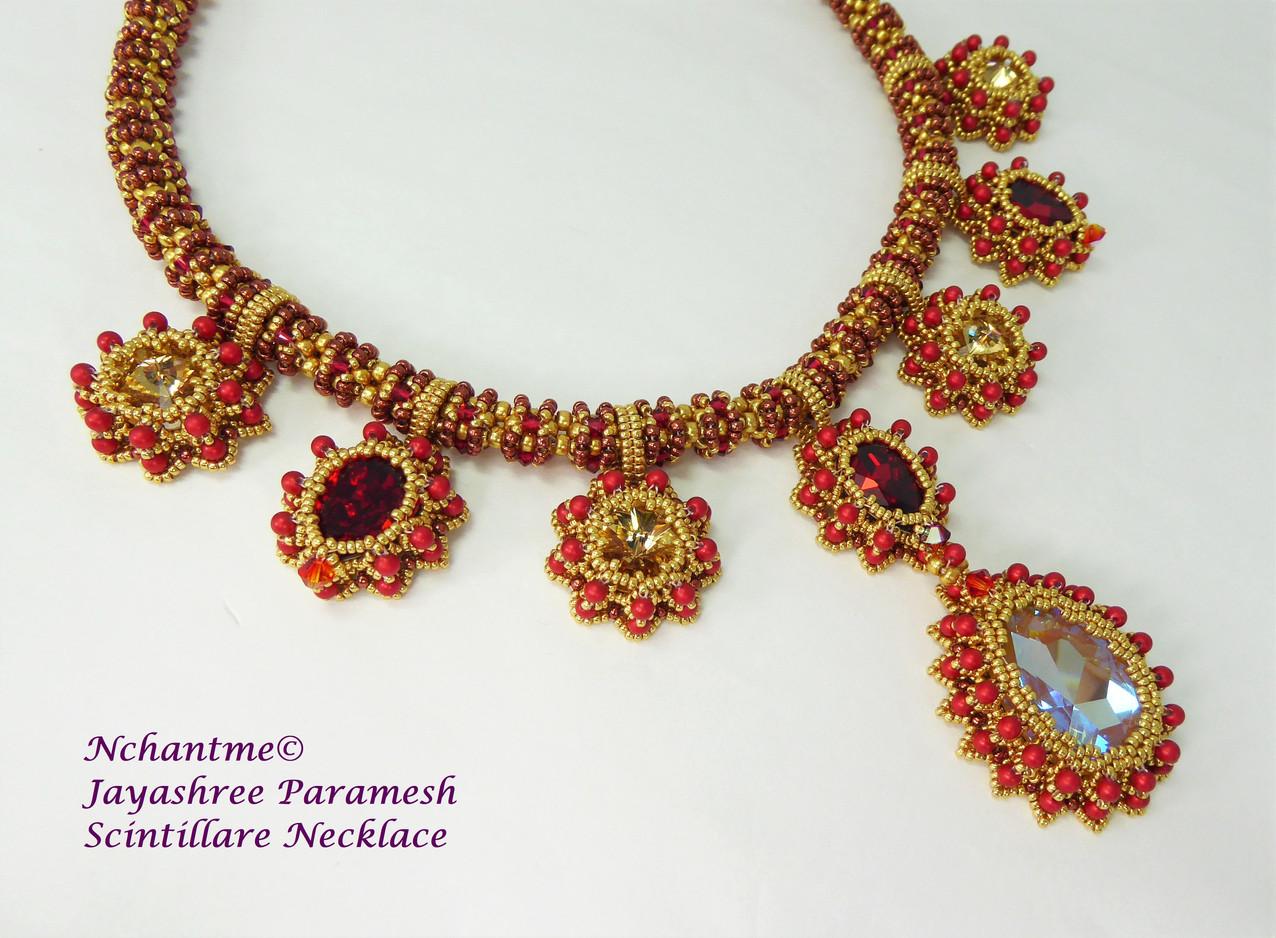Scintillare Necklace Scarlet Gold