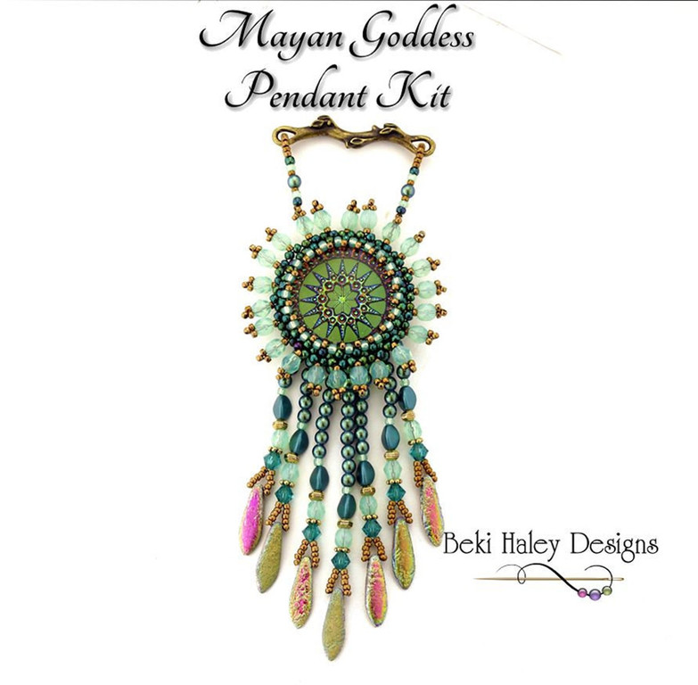 Mayan Goddess Pendant Kit