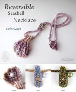 Reversible Seashell Necklace