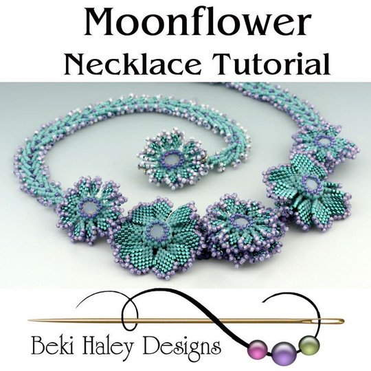 Moonflower Necklace Tutorial