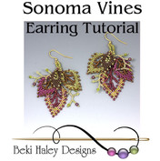 Sonoma Vines Earrings Tutorial