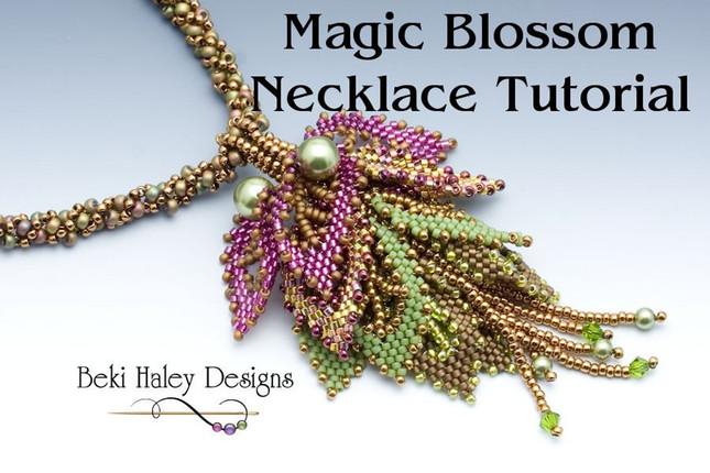 Magic Blossom Necklace Tutorial