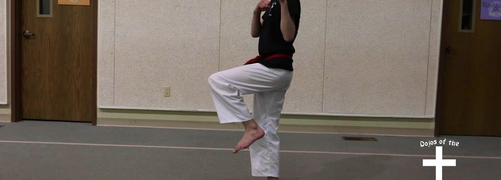 Bending ready stance