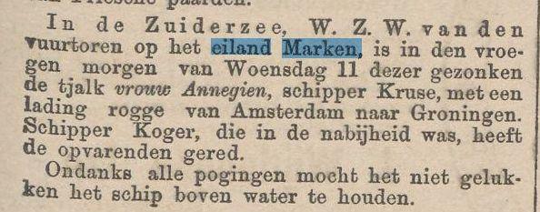 1891_13_03_tjalk_vergaan_ZW_van_de_vuurt
