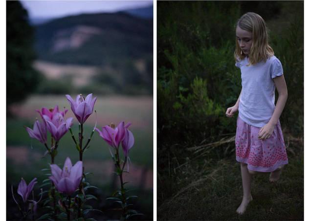 """""""la fille nus-pieds"""", Pyrénées"""