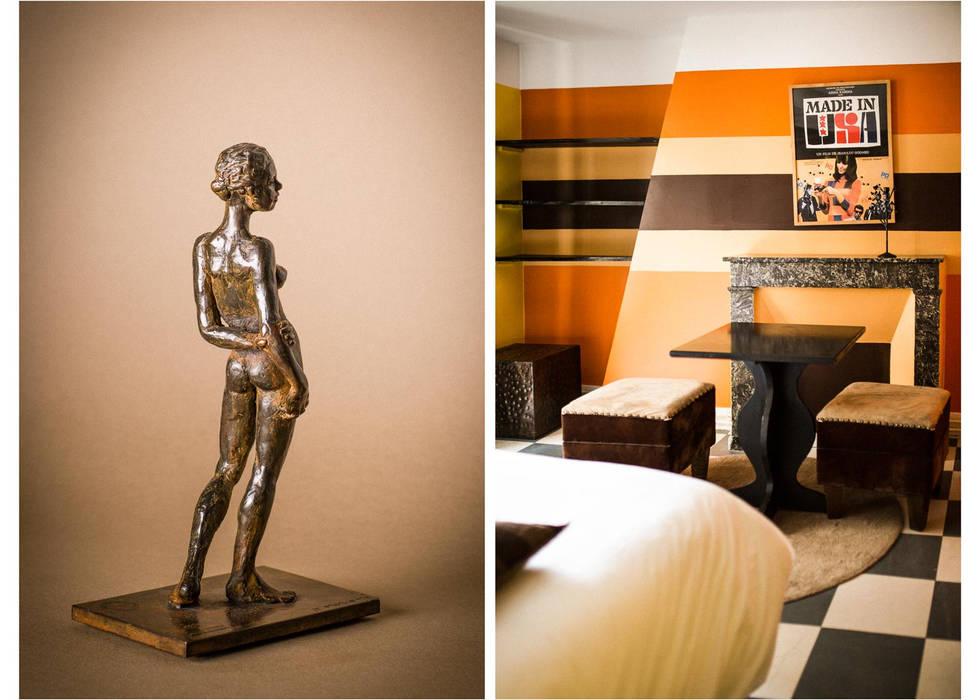 sculpture Jacqueline Moriette / Hôtel El Dorado, 75018 paris 18