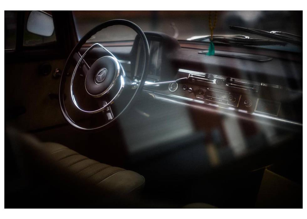 automobile, mercedes 220, vintage, old style, Roubaix, France