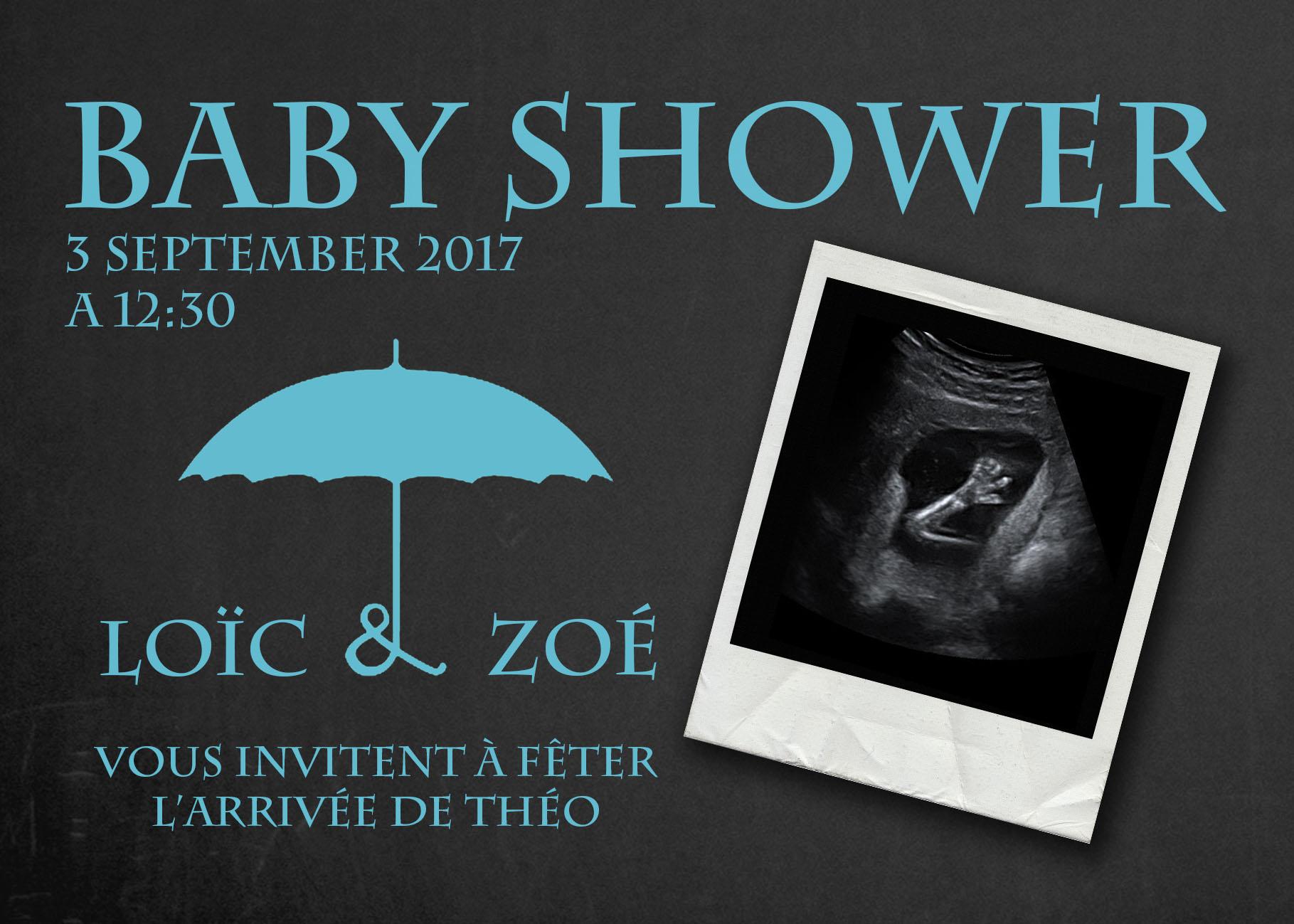 Faire part Baby Shower