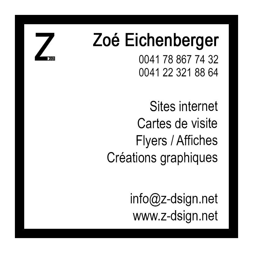 Cv - Carrée - Z-Dsign