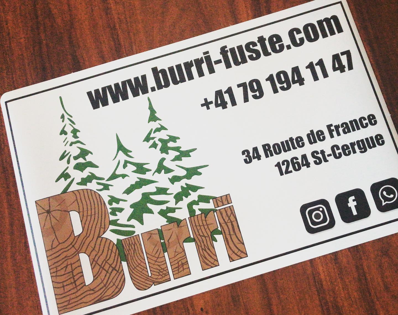 Plaques aimantés Burri