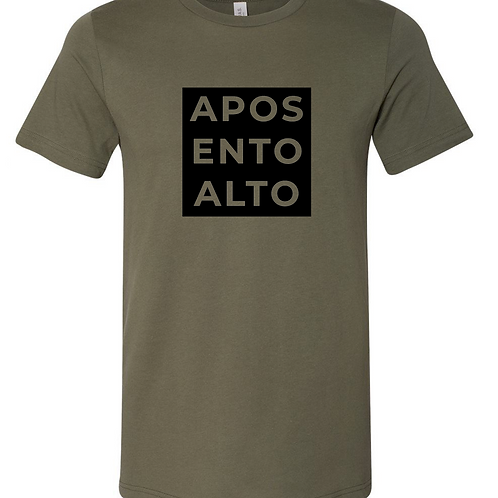 AAWC Square T-Shirt Green