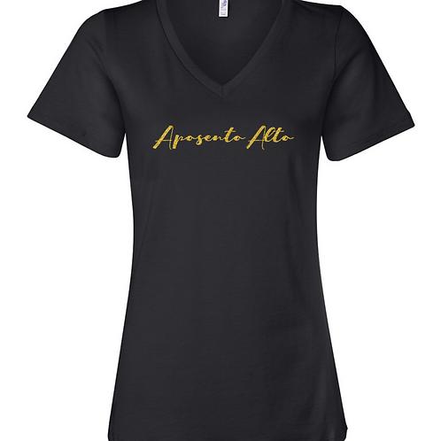 Women V-Neck T-Shirt