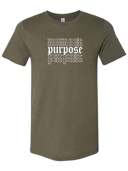 Military Green Tee -  Purpose