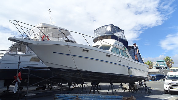 RANDELL 34 FLYBRIDGE GREAT BOAT AND READY TO ENJOY !!