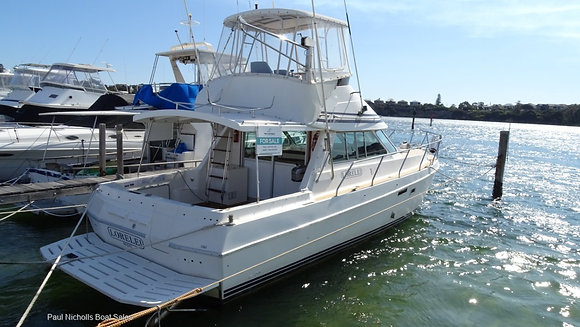 UNDER OFFER - LEEDER 38 FLYBRIDGE