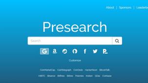 Presearch (PRE) le moteur de recherche décentralisé qui rémunère vos recherches [Présentation]