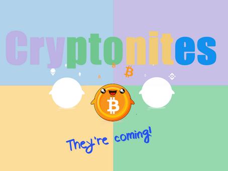 🍭[NFT] Les Cryptonites, petites mascottes débarquent pour donner un coup de main 🍭
