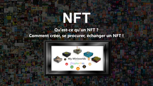 """📚Qu'est-ce qu'un NFT? Comment se procurer, vendre, échanger, créer """"mint"""" des NFTs🎮"""