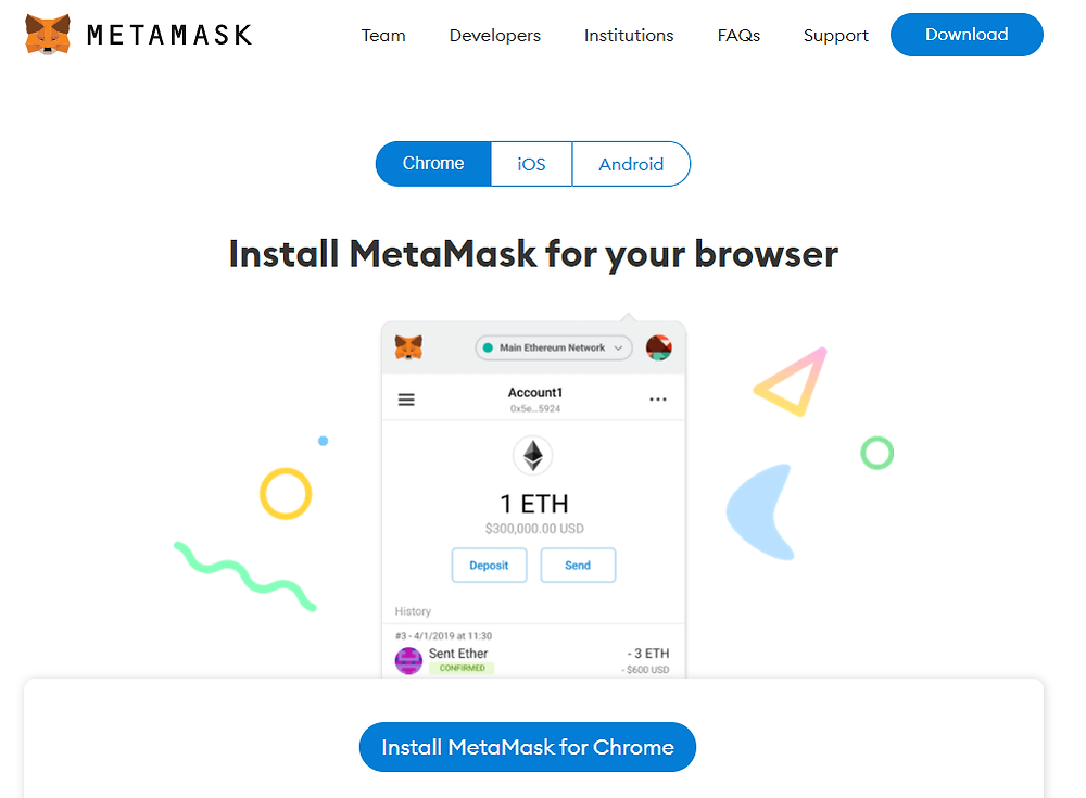 telecharger et installer metamask