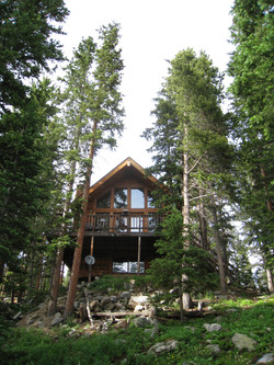 Front Of The Cabin