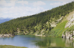 Summer View Of The Lake
