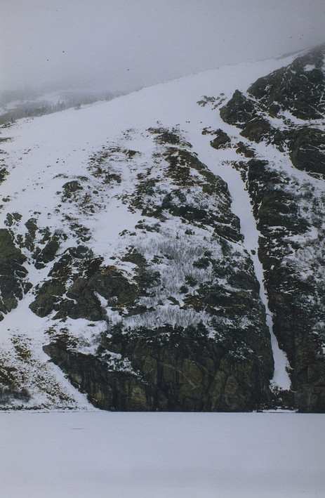 Winter at the Glacier