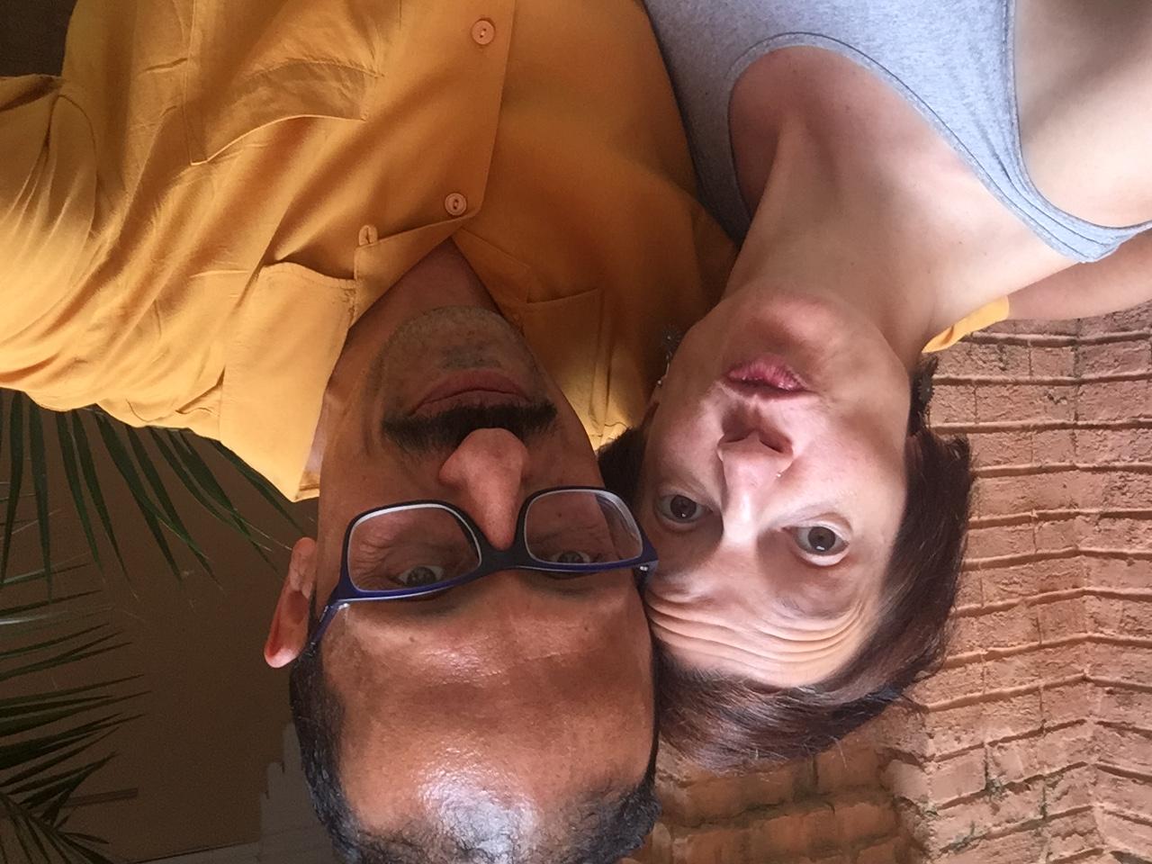 Con mi amiga Vanesa Giner